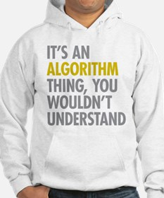 Its An Algorithm Thing Hoodie