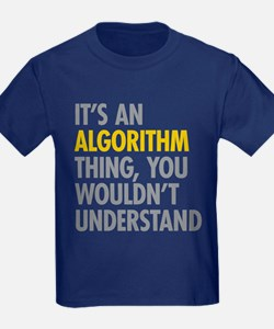 Its An Algorithm Thing T