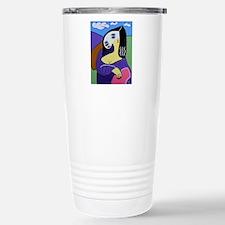 Mona by Andrew Krance Travel Mug