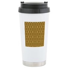 Elegant Vintage Gold an Travel Mug