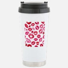 Lipstick Prints Travel Mug
