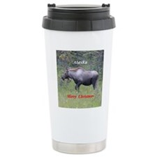 Moose Alaska Travel Mug