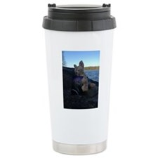 Fennecus Beach Travel Mug