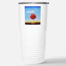 Meditative Rose Stainless Steel Travel Mug