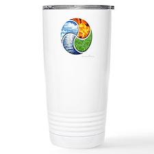 Four Elements Ying Yang Travel Mug