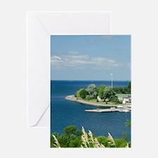 Kingston. View of Royal Military Col Greeting Card