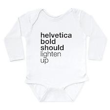 helvetica8-w Body Suit