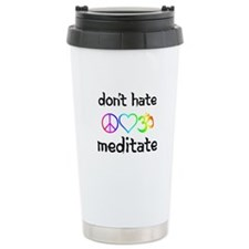 meditate Travel Mug