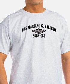 USS MARIANO G. VALLEJO T-Shirt