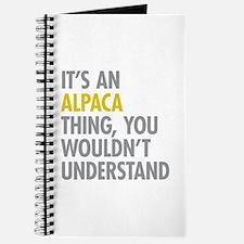 Its An Alpaca Thing Journal