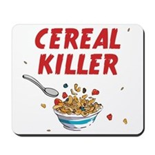 Breakfast Cereal Killer Mousepad