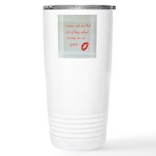 Red Lipstick  Travel Mug