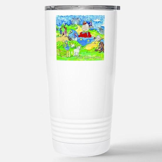 cafepressnurseryrhymes Stainless Steel Travel Mug