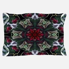 Christmas Berry Wreath Pillow Case