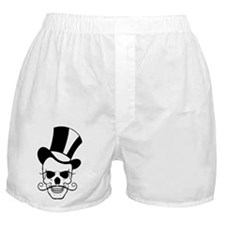 SKULL and TOP HAT Boxer Shorts