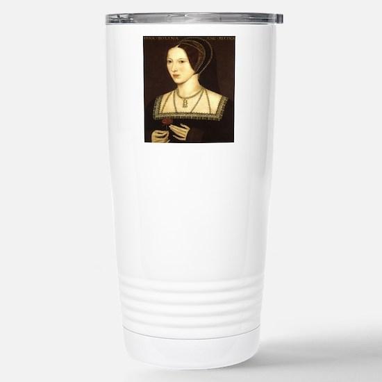 Anne Boleyn Stainless Steel Travel Mug