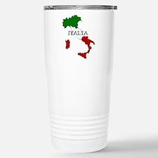 Italy Flag Map Travel Mug