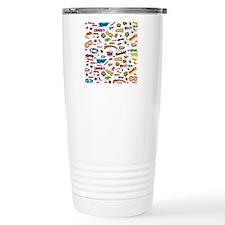 Comic Words Travel Mug