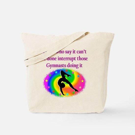 ADORABLE GYMNAST Tote Bag