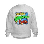 World's Greatest Dad Kids Sweatshirt
