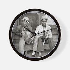 Street Musicians, 1938 Wall Clock