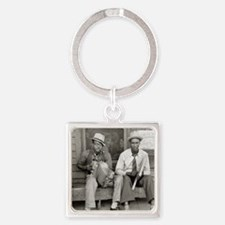 Street Musicians, 1938 Square Keychain