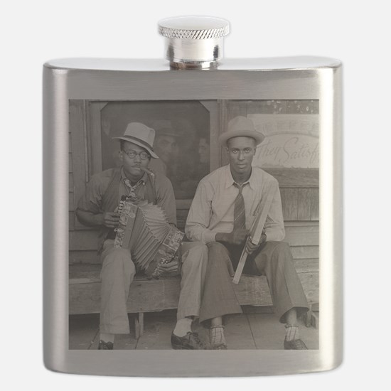 Street Musicians, 1938 Flask