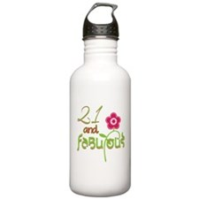 Fabulous 21 Celebratio Water Bottle