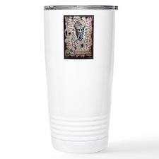 Black Lotus Visions Travel Coffee Mug