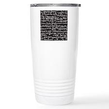 Chalk/Blackboard Travel Mug