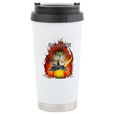Fear The Raptor Travel Mug