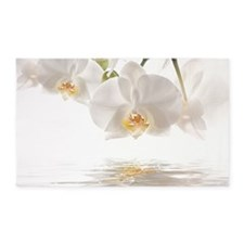 Orchids Reflection 3'x5' Area Rug