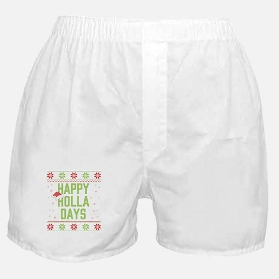 Happy Holla Days Boxer Shorts