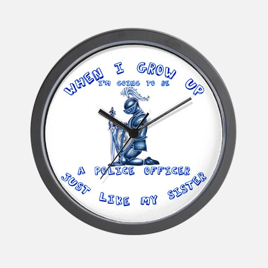 When I Grow Up Sister Wall Clock