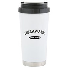 Delaware Disc Golf Travel Coffee Mug