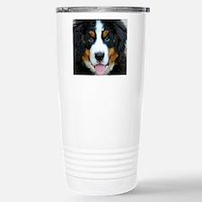 Bernese Mountain Dog Pu Stainless Steel Travel Mug