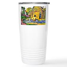 Gauguin - Golden Harves Travel Mug