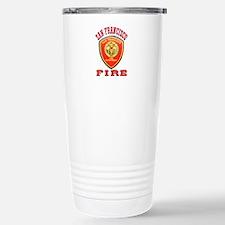 San Francisco Fire Department Travel Mug