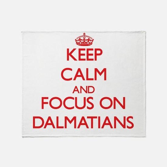 Unique 101 dalmatians Throw Blanket
