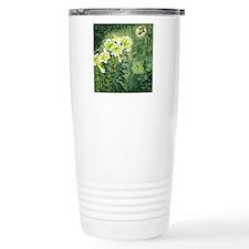 Beautiful Flower Green  Travel Mug