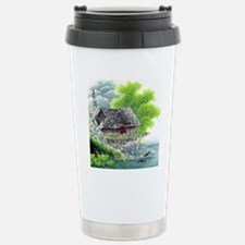 Oriental Hut by the Riv Stainless Steel Travel Mug