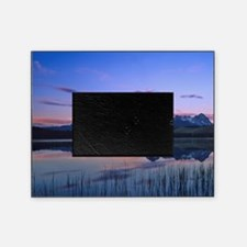 Dawn at Little Redfish Lake in the S Picture Frame