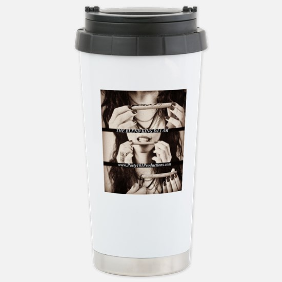Roll Up  Stainless Steel Travel Mug