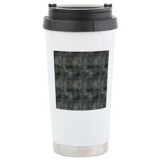Industrial Grey Metal Travel Coffee Mug