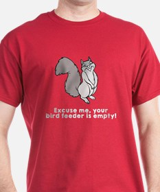 Bird feeder empty T-Shirt