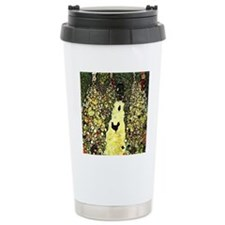 Klimt - Garden with Roo Thermos Mug