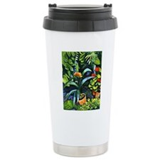 August Macke - Flowers  Travel Mug