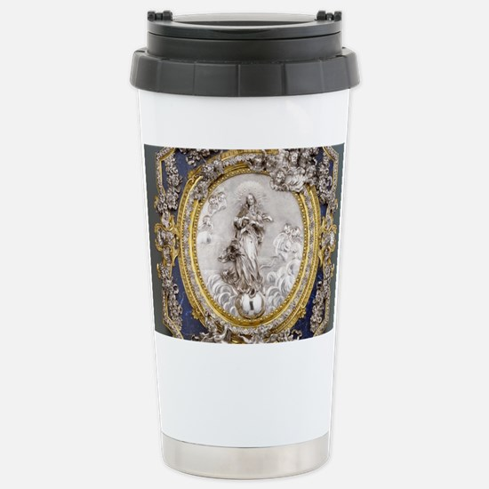 Virgin of the Immaculat Stainless Steel Travel Mug