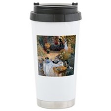 The Luncheon by Claude  Thermos Mug
