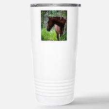 Costa Rica horse Travel Mug